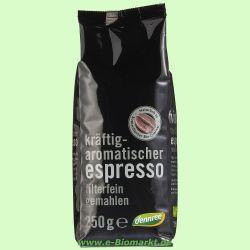 Espresso, gemahlen (dennree)