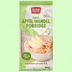Porridge Apfel-Mandel-Dinkelbrei (Rosengarten)