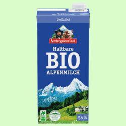 Haltbare Alpen-Milch 3,5 % (Berchtesgadener Land)