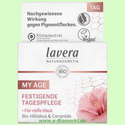 Reichhaltige Tagespflege, Bio-Cranberry & Bio-Arganöl (Lavera)