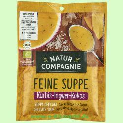 Kürbis-Ingwer-Kokos Suppe (Natur Compagnie)