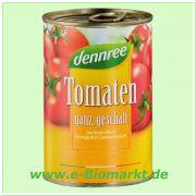 Tomaten geschält in Tomatensaft (dennree)