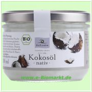 Kokosöl nativ, 200 ml (Bio Planete)
