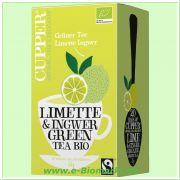 Grüner Tee Limette & Ingwer (Cupper)