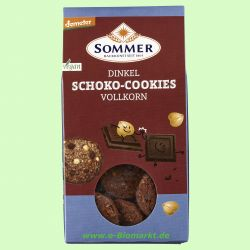 Dinkel-Schoko-Cookies, Vollkorn (Sommer & Co.)