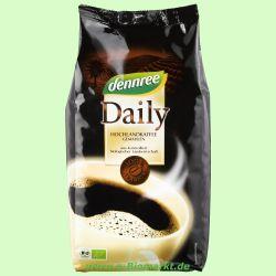 Daily-Kaffee Arabica-Mischung, gemahlen (Dennree)
