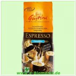 Espresso, gemahlen (Gustoni)
