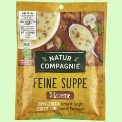 Pilzcremesuppe (Natur Compagnie)