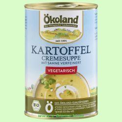 Kartoffel-Creme Suppe (Ökoland)