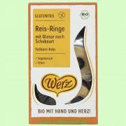 Reis-Vollkorn-Schoko-Ringe, glutenfrei (Werz)