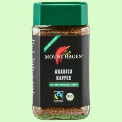 Löslicher Kaffee, entkoffeiniert (Mount Hagen)