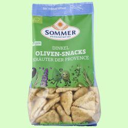 Dinkel-Oliven-Snacks Kräuter der Provence (Sommer & Co.)