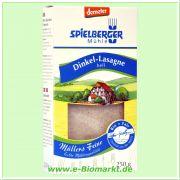 Dinkel-Lasagne, demeter (Spielberger)