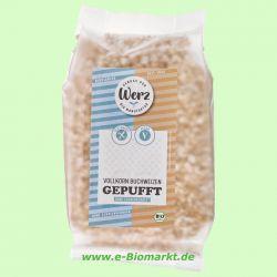 Vollkorn-Buchweizen gepufft, glutenfrei (Werz)