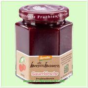 Sauerkirsche Fruchtaufstrich, 70% Fruchtanteil (die beerenbauern