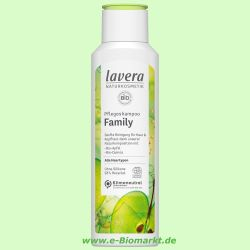 Apfel-Shampoo für normales bis trockenes Haar (Lavera)