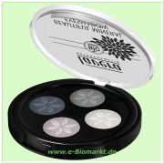 Beautiful Mineral Eyeshadow Quattro Smoky Grey 01 (Lavera)