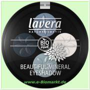 Beautiful Mineral Eyeshadow Quattro - Blue platinum (Lavera)