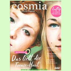 Cosmia - Das Naturkosmetik-Magazin - September/Oktober/November 2021