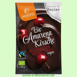 Amarenakirsche in Zartbitter-Schokolade (Landgarten)