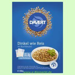 Zart-Dinkel im Kochbeutel (Davert)