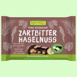 Zartbitter Cristallino Schokolade 60% mit ganzen Haselnüssen HIH