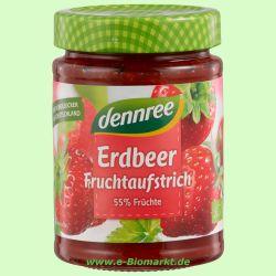 Erdbeere Fruchtaufstrich (dennree)