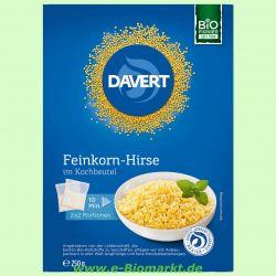 Feinkorn-Hirse im Kochbeutel (Davert)