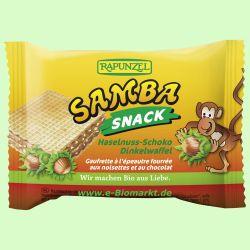 Samba Snack, Haselnuss-Schoko Schnitte (Rapunzel)