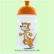 FreeWater Trinkflasche (ISYbe) 500 ml, Tiger, transparent/orange (FreeWater)