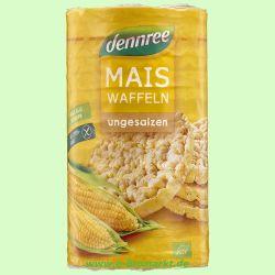 Maiswaffeln ohne Salz - glutenfrei (Dennree)