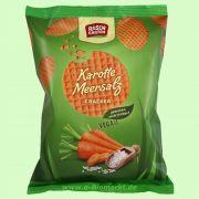 Gemüse-Cracker Karotte-Meersalz - Luftige Dinkelwaffeln (Rosengarten)