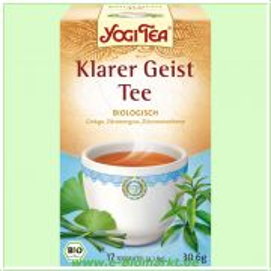 Klarer Geist Tee - Kräutertee (Yogi Tee)
