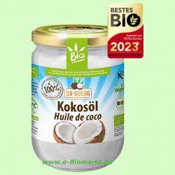 Kokosöl nativ, 1. Kaltpressung (Dr. Goerg)