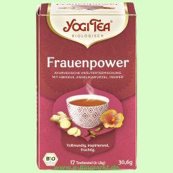 Frauen Power Tee - Kräuter-/Gewürztee (Yogi Tee)
