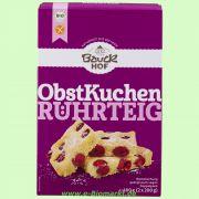 Obstkuchen-Rührteig, glutenfrei - Backmischung (Bauckhof)