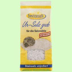 Ur-Salz, grob - für die Salzmühle, unjodiert (Erntesegen)