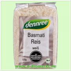 Basmati Reis weiß (Dennree)