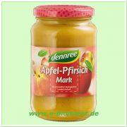 Apfel-Pfirsichmark (dennree)