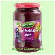 Apfel-Heidelbeermark (dennree)