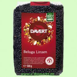Beluga Linsen schwarz (Davert)