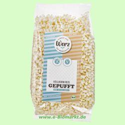Vollkorn-Reis gepufft, glutenfrei (Werz)