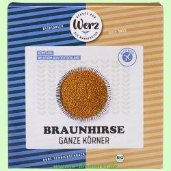 Braunhirse, ganz-keimfähig, glutenfrei (Werz)