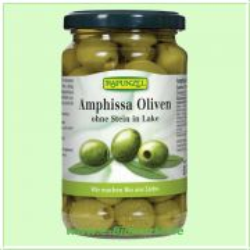 Amphissa Oliven, grün ohne Stein (Rapunzel)