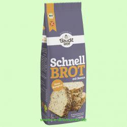 Schnellbrot mit Saaten, glutenfrei - Backmischung (Bauckhof)