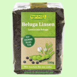 Beluga Linsen schwarz, klein (Rapunzel)