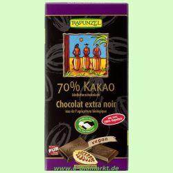70% Kakao Edelbitter-Schokolade HIH (Rapunzel)