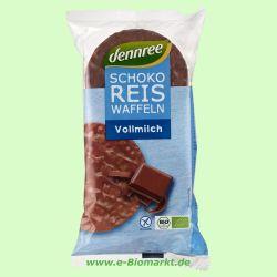 Reiswaffeln mit Vollmilchschokolade (Dennree)