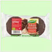 Reiswaffeln mit Zartbitterschokolade (Dennree)