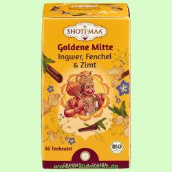 GOLDENE MITTE - Ingwer Fenchel (Shoti Maa)